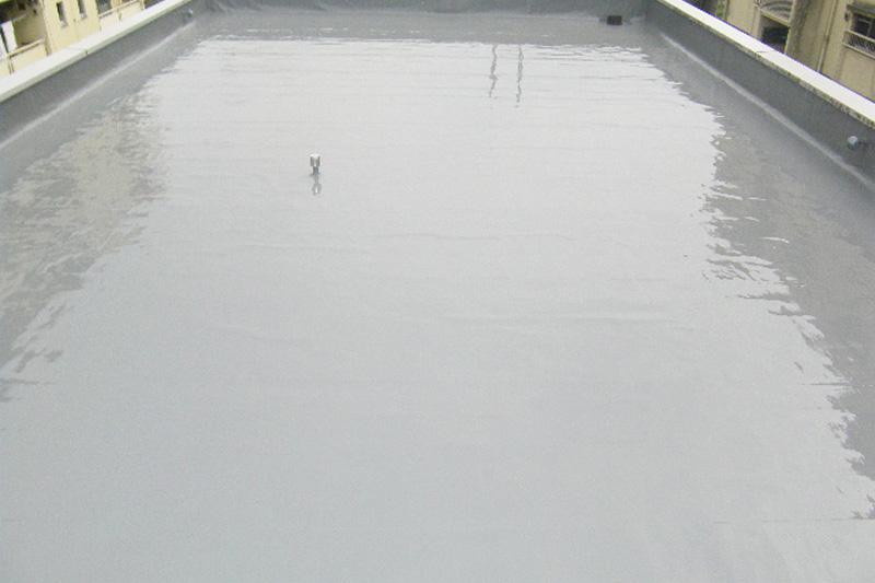 ウレタン防水 塗装ビフォアアフター