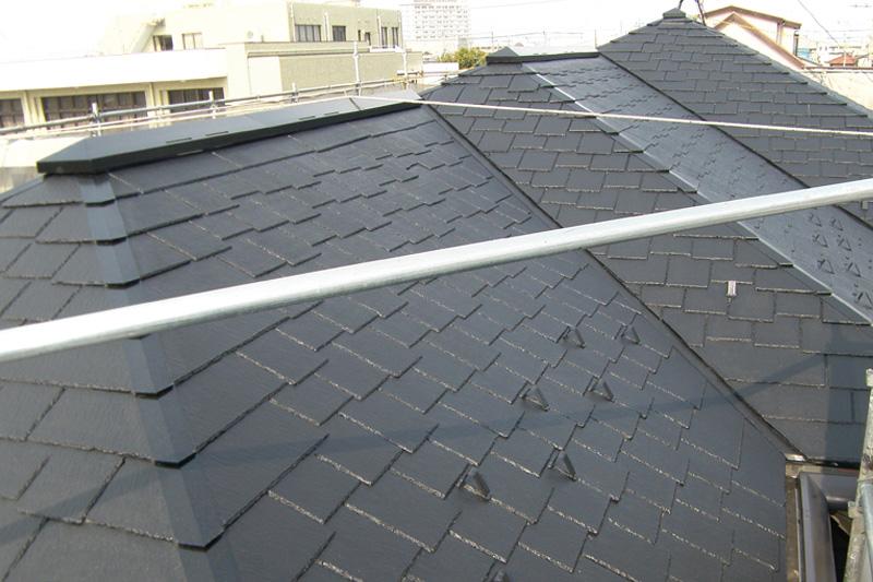 屋根塗装 塗装ビフォアアフター