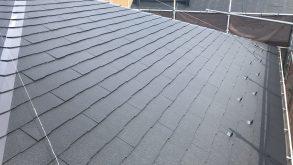スレート屋根 遮熱シリコン塗装